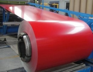 Roofing PPGI Steel Coil , Pre Painted Steel Coil Without Protective Film